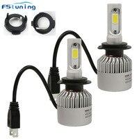 FSTUNING H7 Led Headlight Adapter For KIA Carens Opel Astra H Car H7 Led Holder Bulb