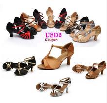 New 2017 Popuplar High Quality Latin Dance Shoes For Women/Ladies/Girls/Tango Salsa