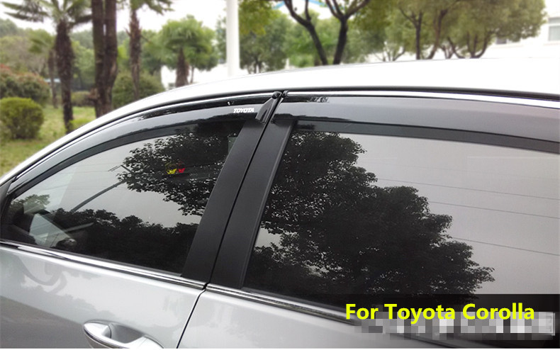 Fit For Toyota Corolla 2007 2013 Side Window Rain