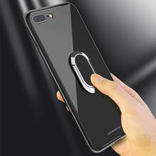 hot deal buy car bracket case for iphone 8 8 plus ring magnetization case cover for iphone 8 soft tpu+tempered glass armor shockproof coques
