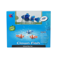 2016ใหม่มินิRCปลาการ์ตูนของเล่นควบคุมระยะไกลอินฟรา