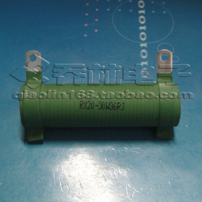 Electronic Component tube enamel wire wound resistor power resistor ...