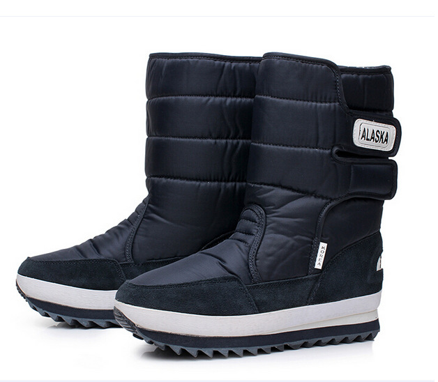 New 2017 Winter Snow Boots Men OutDoor Boots,Warm Plush Fur Boots Waterproof Boots Plus Size 40-47 Free Shipping