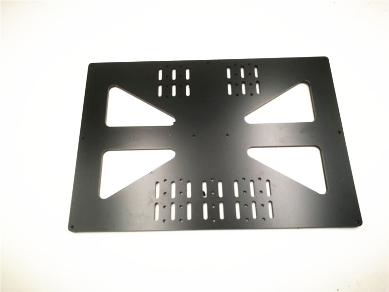 Funssor 200x300mm heated bed support Aluminum composit Extended Y Carriage Plate for Prusa i3