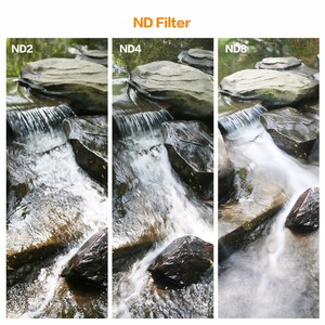Image 4 - K & F CONCETTO ND Lens Filter Kit 52/55/58/62/67/72/ 77 millimetri ND2 + ND4 + ND8 + Bag + Panno Pulito Per Nikon Canon DSLR Filtro a Densità Neutra