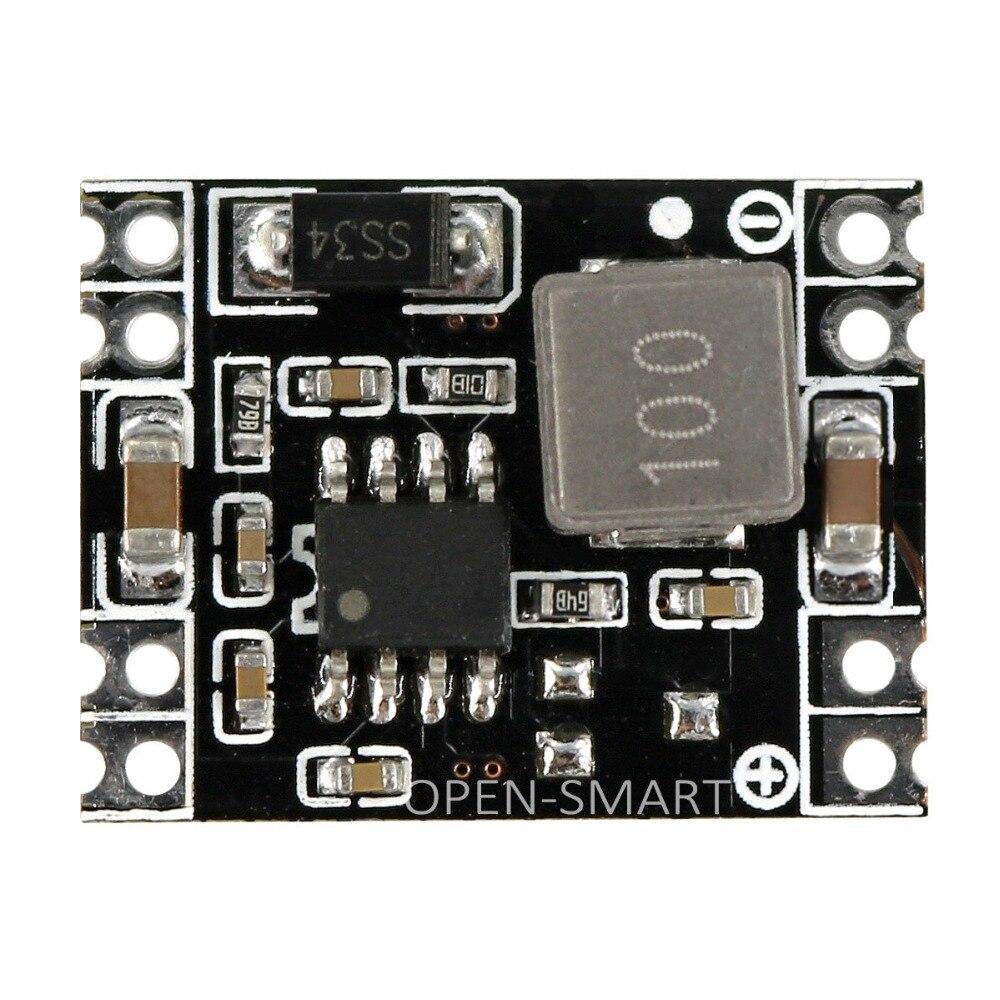 SMD DC 6.2~26V to 5V MP1584 DC-DC Buck Converter Power Supply Module Mini Step-down Regulator Module for Smart Car / Airplane