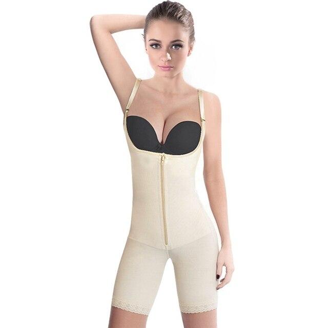 Klamra zamek talii Shaper odchudzanie Body Shapewear Butt Lifter regulowany pasek na ramię ciała Shaper bielizna kobiety gorset