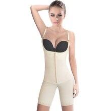 אבזם רוכסן מותניים הרזיה בגד גוף Shapewear התחת מרים מתכוונן רצועת כתף גוף Shaper נשים מחוך