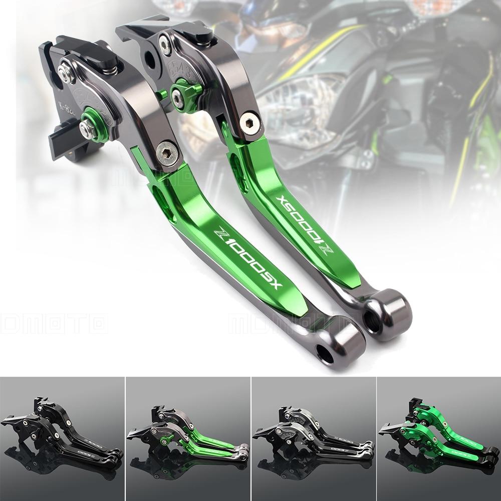 CNC motos Z900 de frein levier d'embrayage Pour kawasaki Z800 Z1000 Z1000SX ZX6R Z650 Z750 VERSYS 650 1000 ninja 1000 de frein leviers
