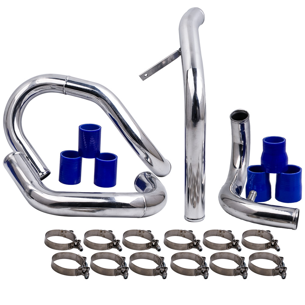 Front Mount Intercooler Piping Kit For 98-05 VW JETTA GOLF GTI with 1.8L/ 1.8T Turbochaged l4 Engines ONLY front mount intercooler piping kit for 98 05 vw jetta golf gti with 1 8l 1 8t turbochaged l4 engines only
