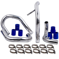 Front Mount Intercooler Piping Kit For 98 05 VW JETTA GOLF GTI with 1.8L/ 1.8T Turbochaged l4 Engines ONLY