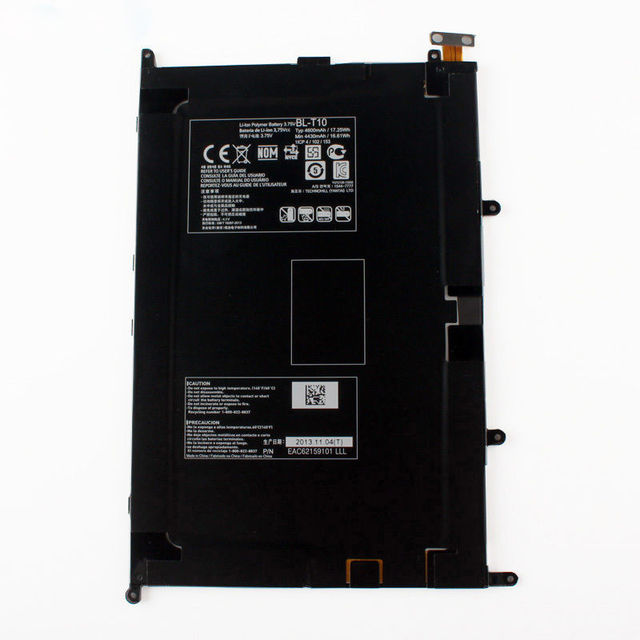 100% New Battery For LG Optimus 8.3 V500 BL-T10 4600 mAh Replacement