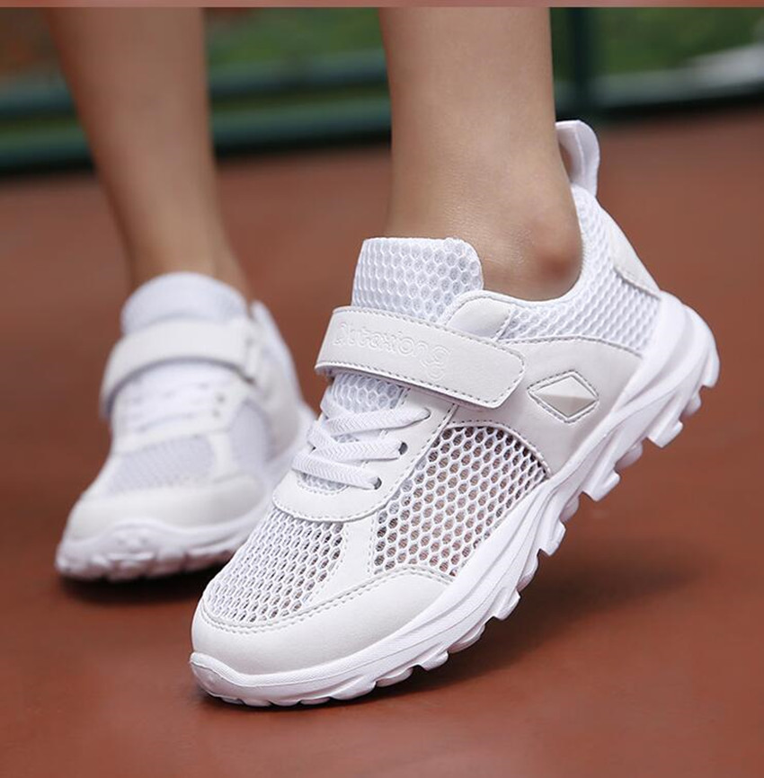 Boys and girls casual shoes big children breathable mesh shoes summer 2018 new