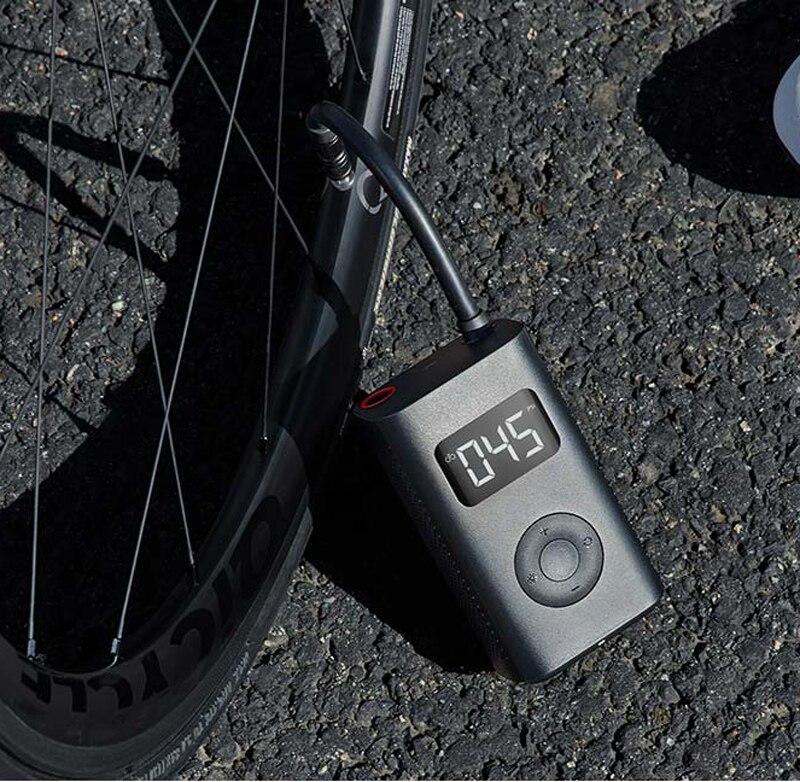 En Stock Xiaomi Mijia Portable intelligent numérique détection de pression des pneus pompe de gonflage électrique pour vélo moto voiture Football