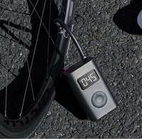 In Stock Xiaomi Mijia Portable Smart Digital Tire Pressure Detection Electric Inflator Pump for Bike Motorcycle Car Football
