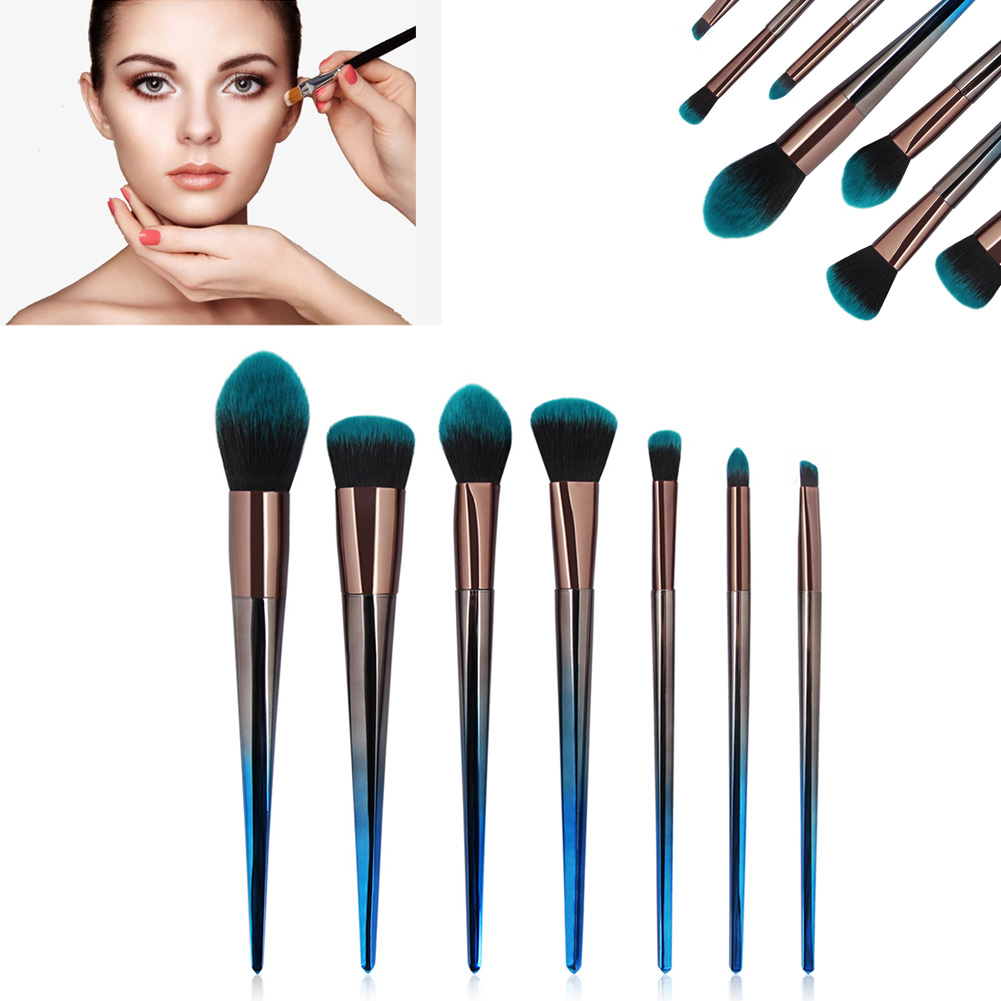 7 Pcs Make Up Brushes Foundation Eyshadow Blusher Powder Blending Cosmetic Brush WH998 толстовка quelle quelle 328583