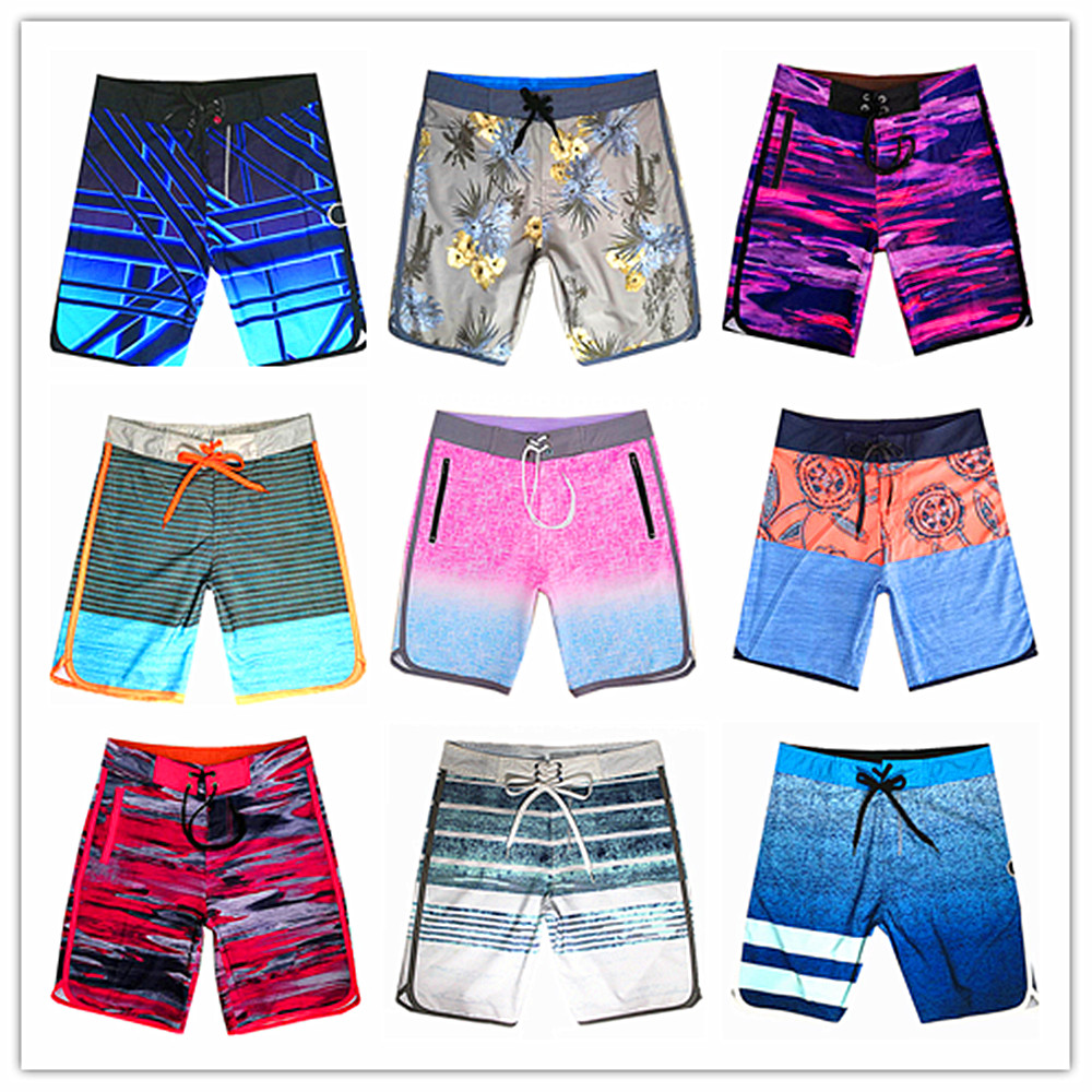 Hot Summer 2019 Brand Phantom Beach   Board     Shorts   Men 100% Quick Dry Elastic Spandex Male Swimwear Sexy Mens Bathing   Shorts   M-XXL