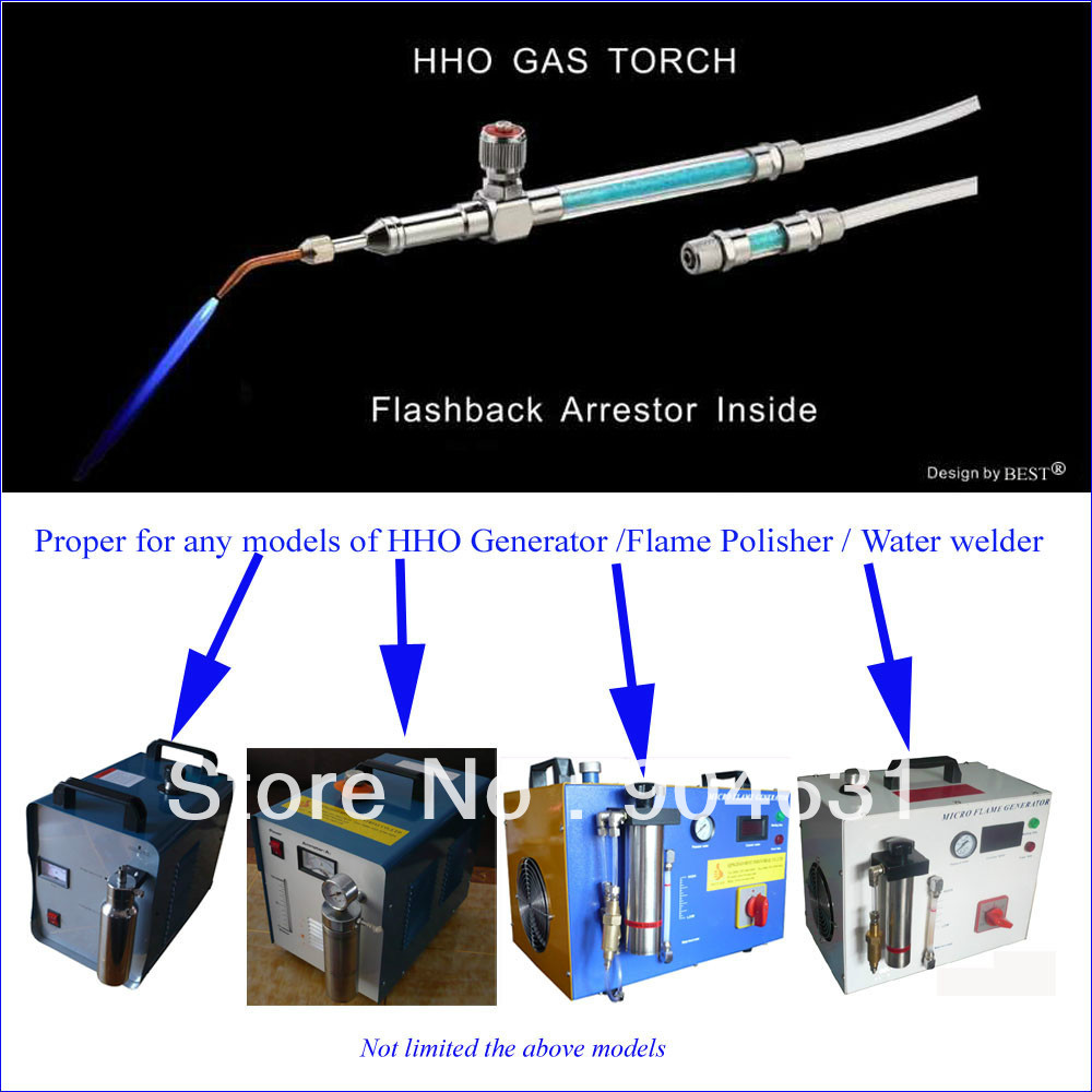 Free Shipment High Quality Flame Torch and nozzles set for any models of  HHO Generator Micro Flame Polisher and Water Welder flame trees of thika
