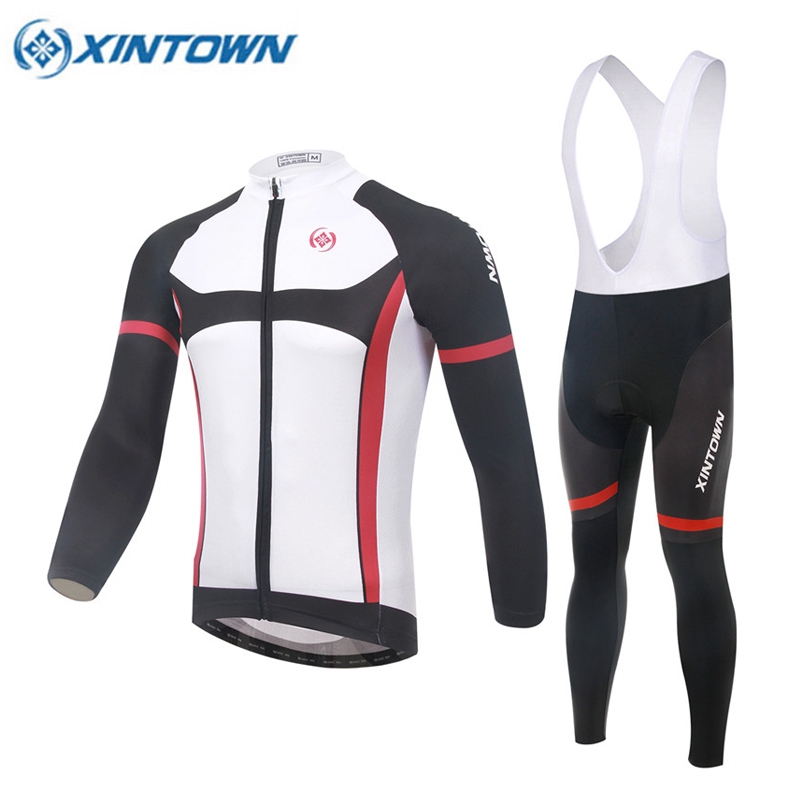 Factory XINTOWN Anti-sweat Mtb Breathable Jersey Bike Clothing Ropa Ciclismo Hombre Men Long Sleeve Cycling Clothes Sportswear ropa ciclismo 2016 men sportswear cycling clothing summer style new fashion cycling jersey mtb bike abbigliamento ciclismo l a01