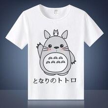 2017 china Japonés Top Tops Anime Chinchilla Tees Señoras Cartoon Harajuku Camisetas Basic Totoro Impreso ROqxwZOcpz