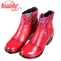 Xifairy g nouveauté 100% véritable fourrure classique Mujer Botas imperméable véritable cuir de vachette bottes en peluche chaussures d'hiver pour les femmes