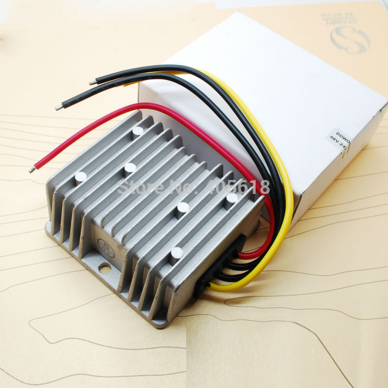 240W/10A 48V to 24V 5A 120Wmax Waterproof Car DC DC converter  free shipping240W/10A 48V to 24V 5A 120Wmax Waterproof Car DC DC converter  free shipping