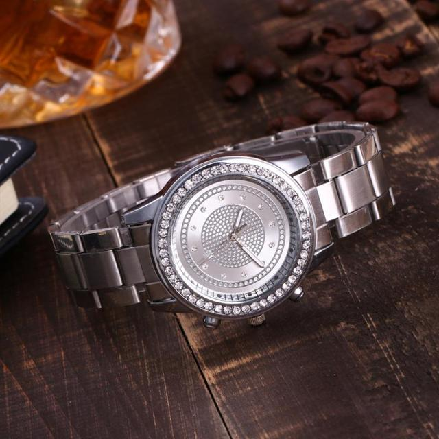 Simple Watches Rhinestones Dress Woman Watch Rose Gold Ladies Watches Clock Female Fashion Women ladies Hot Sale Elegant New M3