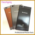 Original Back Cover Case Housing For Lenovo K900 Battery Door With Buttons +Back Camera Lens +Tools Black Silvery Orange Color