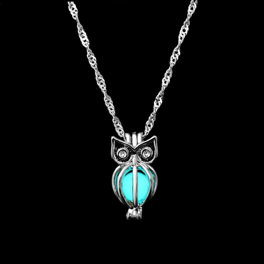 FAMSHIN-Fashion-Charm-Glowing-Owl-Pendant-Necklace-Cute-Luminous-Stone-Choker-3-Colors-Christmas-Gift-For (3)