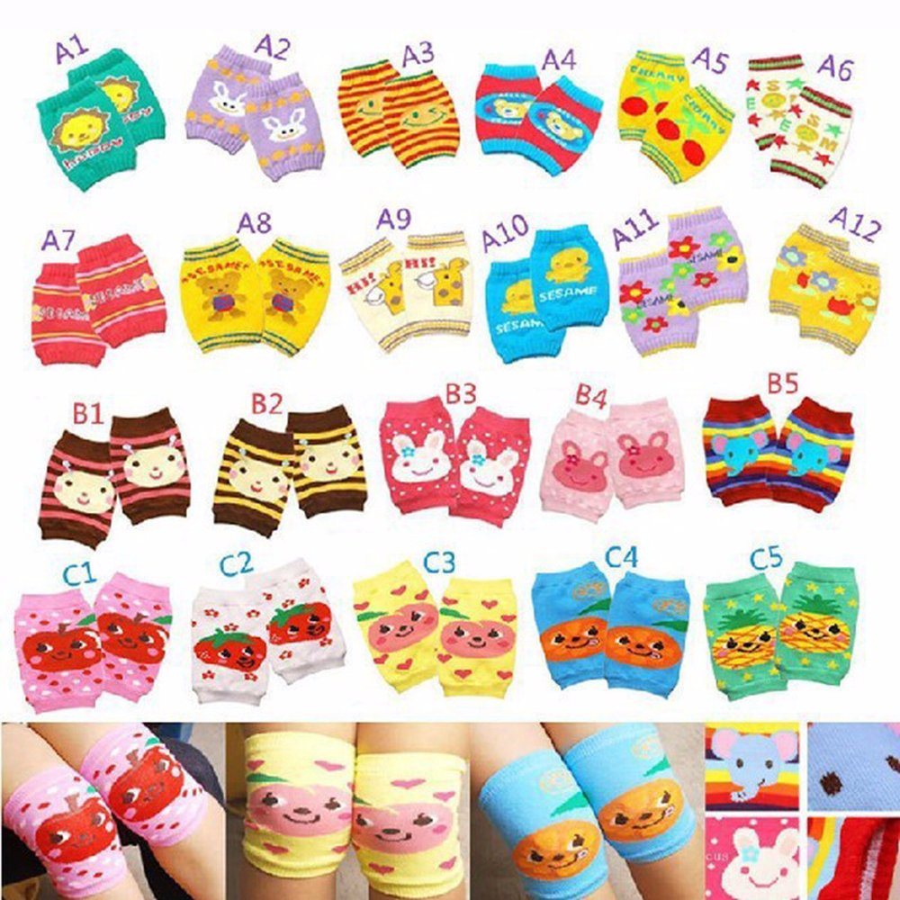 0 3 Year Old Infant Elbow Pads Newborn Baby Knee Pads Children Anti fall Baby Crawling Loose Mouth Foot Cover 12 Colors in Leg Warmers from Mother Kids
