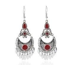 Bohemia Jewelry Vintage Ethnic Earrings Drop Earrings for Women Oorbellen Long Earrings Pendientes цена 2017