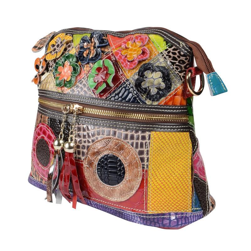 Women\'S Genuine Leather Bucket Bags For Women Women Small Serpentine Pattern Tote Bag Tassel Shoulder Bag Female Bag
