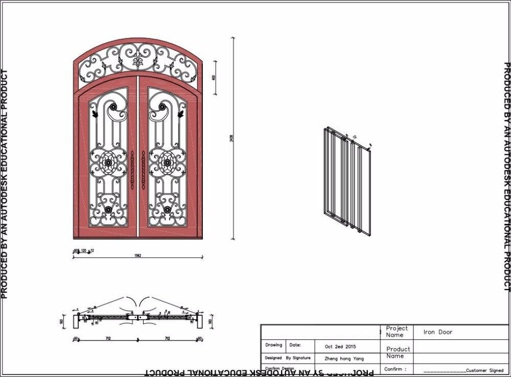 Iron Door Installation  Where To Buy Wrought Iron Stock