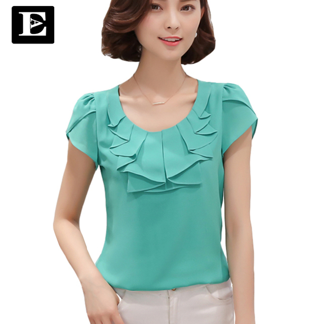 Aliexpress.com : Buy EveingAsky Office Women Shirts Blouses White ...