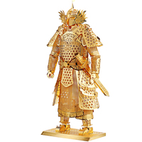 Piececool Kids Adult Toys 3D Construction Figures Model Puzzle General Samurai Warriors Armor For Children Tangram