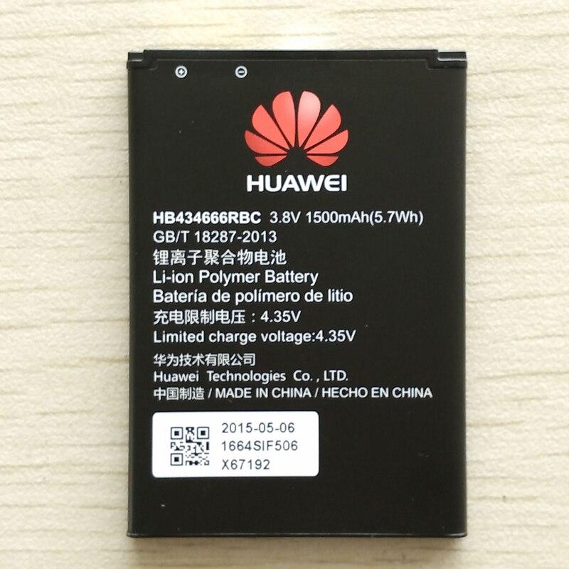 Batteries 3.8 v rechargeables li-ion li-polymère batterie au lithium polymère intégrée pour HUAWEI E5573S-856/852/853 HB434666RBC wifi
