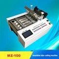 Высококачественная микрокомпьютерная автоматическая машина для резки труб MZ-100 машина для резки труб 110В/220В 0.3квт 0 1-100 мм 120 раз/мин