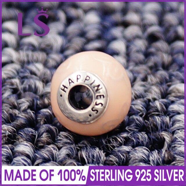 LS High Quality 100%S925 Silver Essence Wellness Charm Beads Fit Original Essence Bracelets Pulseira Essencia.100% Fine Jewelry