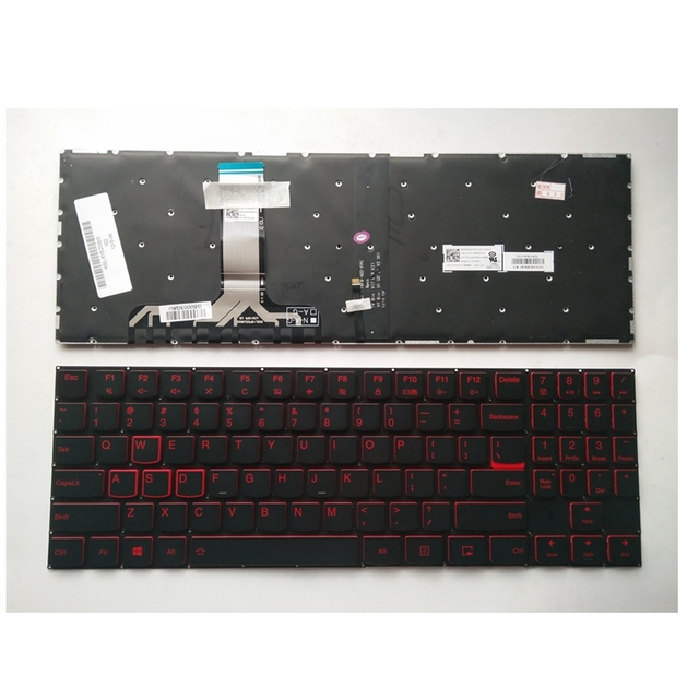 US $42 16 5% OFF|Aliexpress com : Buy US Laptop Keyboard For Lenovo For  Legion Y520 Y720 R720 15IKB Black New English With backlight from Reliable