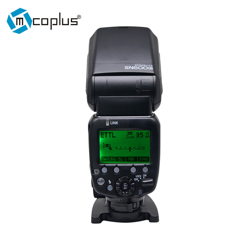 Mcoplus SHANNY SN600C Flash Speedlight HSS 1 8000S TTL GN60 Speedlite for Canon 1100D 1200D 550D