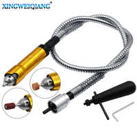 Engraver Flexible Shaft 6mm Flex Shaft Handpiece Power Tool Electric Drill Handle Chuck Separate Mini Grinder Accessories