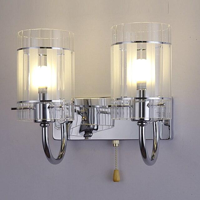 Bedroom Modern Glass Wall Lamp Minimalist Creative House Lighting