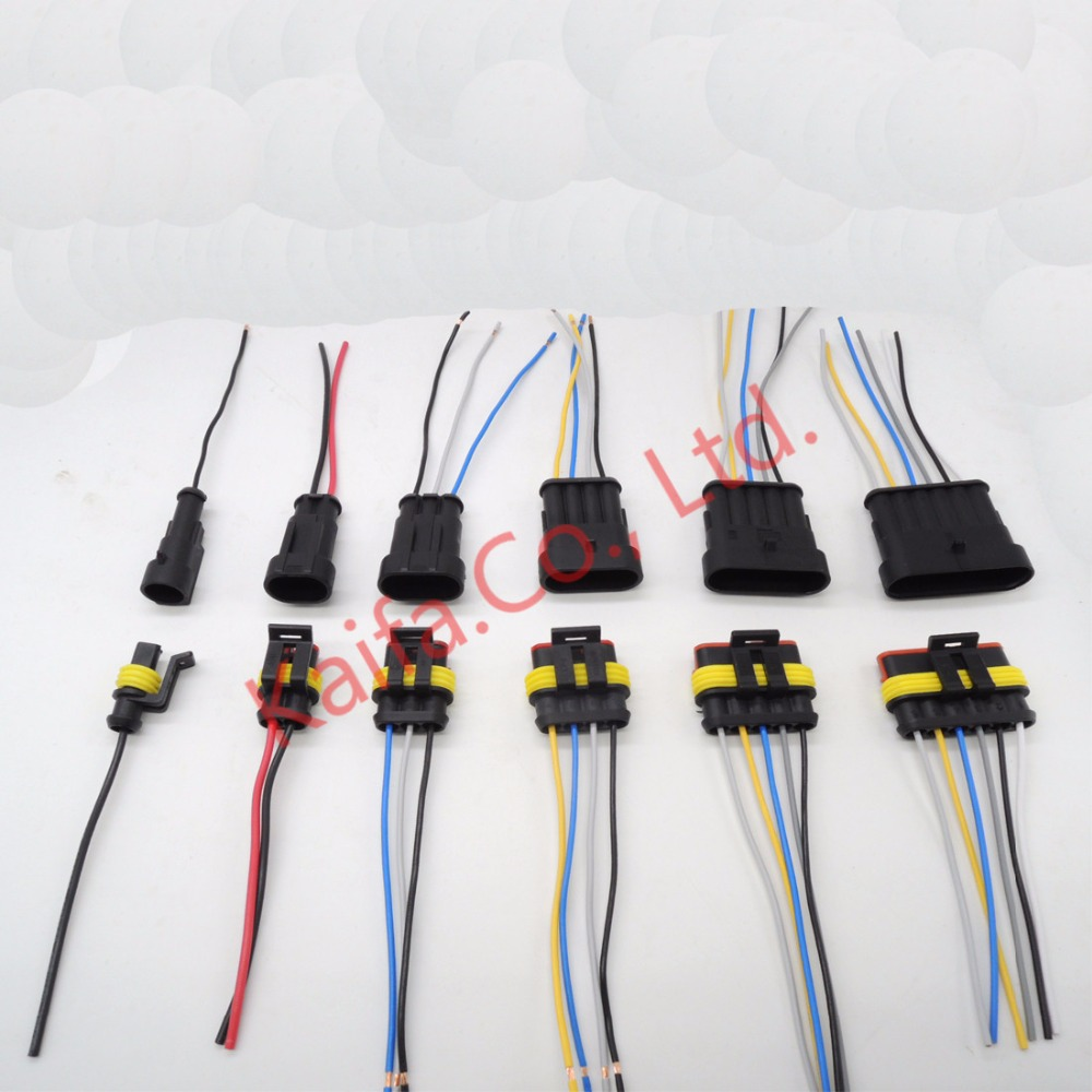 popular electrical harness connectors buy cheap electrical harness 1sets lot kit 1 2 3 4 5 6 pin