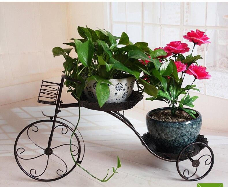 el tamao grande de europa tres ollas fower balcn estante macetas jardn jardineras titular flor prgolas