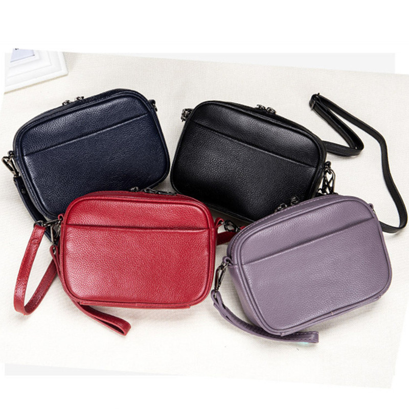 3f17ebcd6 Designer de mulher bolsa pequena bolsa de couro de luxo saco de ombro da forma  transversal do corpo sacos do mensageiro das mulheres bolsa preta de couro  ...