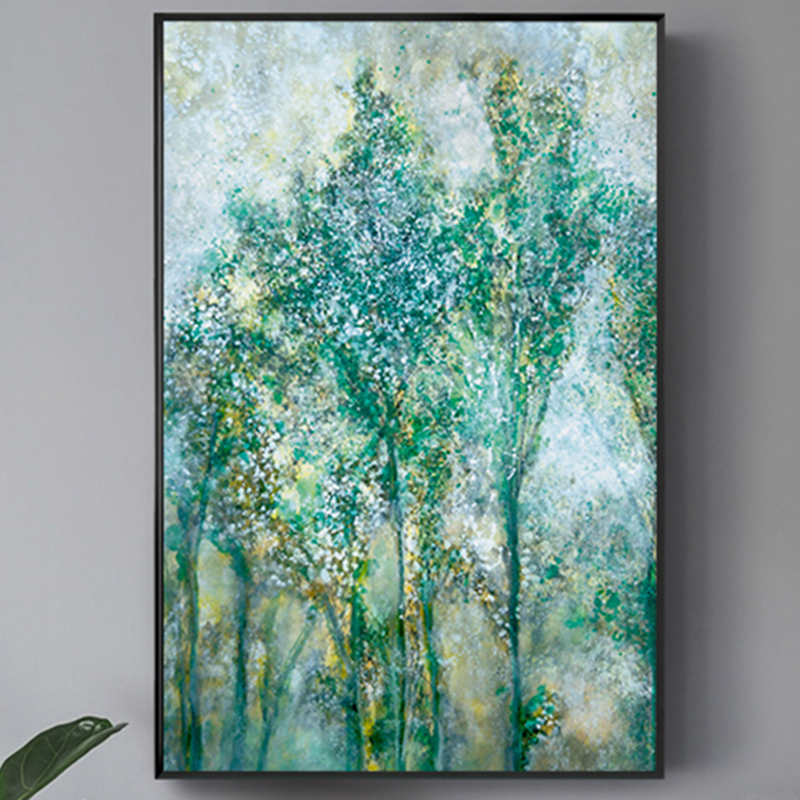 100 Hand Painted Abstract Life Trees Art Painting On Canvas Wall Art Wall Adornment Pictures Painting For Live Room Home Decor in Painting Calligraphy from Home Garden