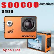 SOOCOO S100 4K Wifi Action Cam Gyro Electronic Image Stabilization GPS Module 30M Waterproof Diving Outdoor Mini Sports Camera
