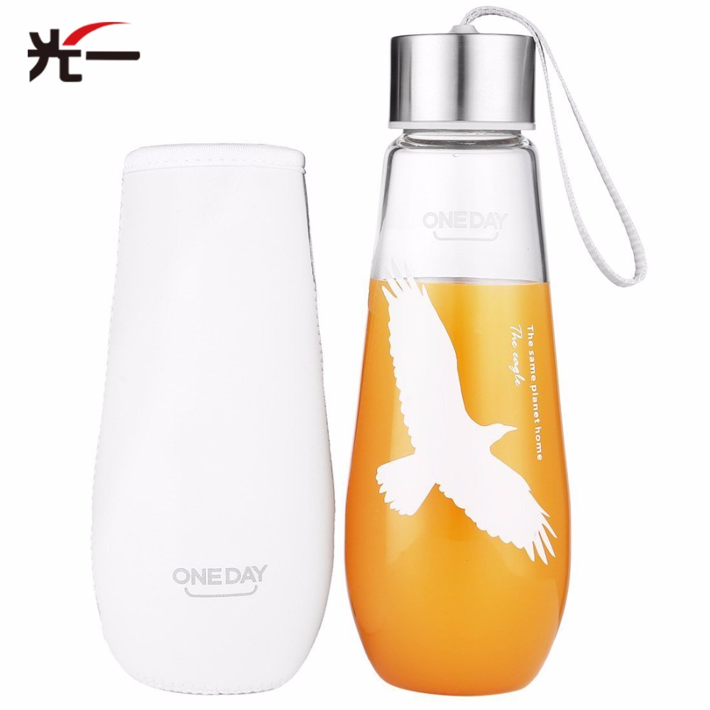ONEDAY Deer Glasses Tumbler Coffee Glass Bottle For Water