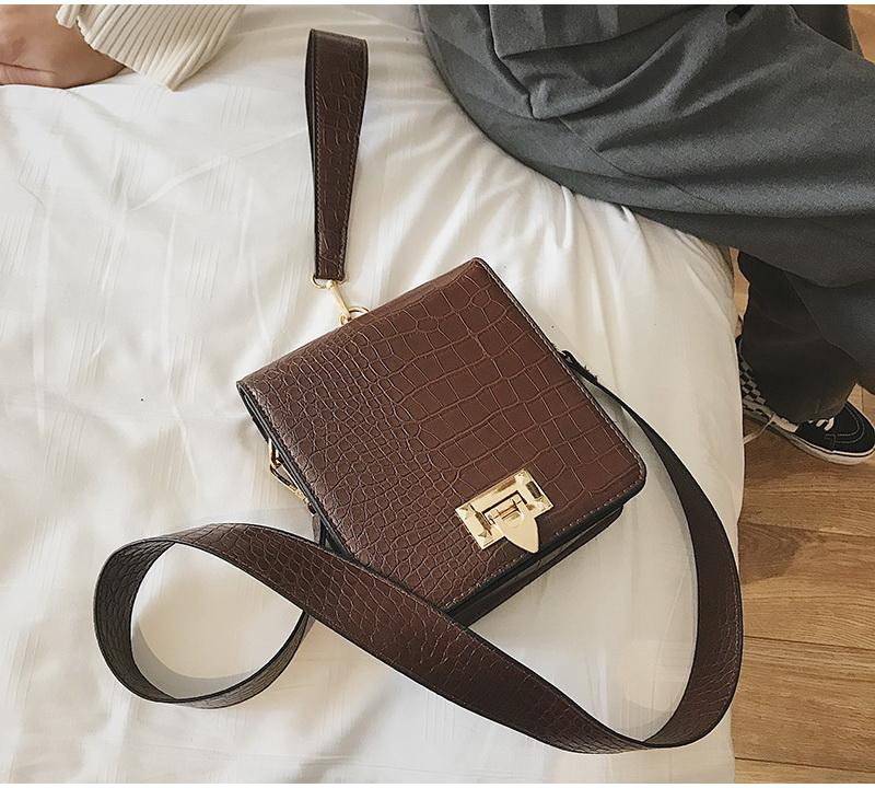 DIINOVIVO Fashion Alligator Female Handbags Designer Crossbody Bags for Women Small Square Bag Shoulder Messenger Purse WHDV0917 14