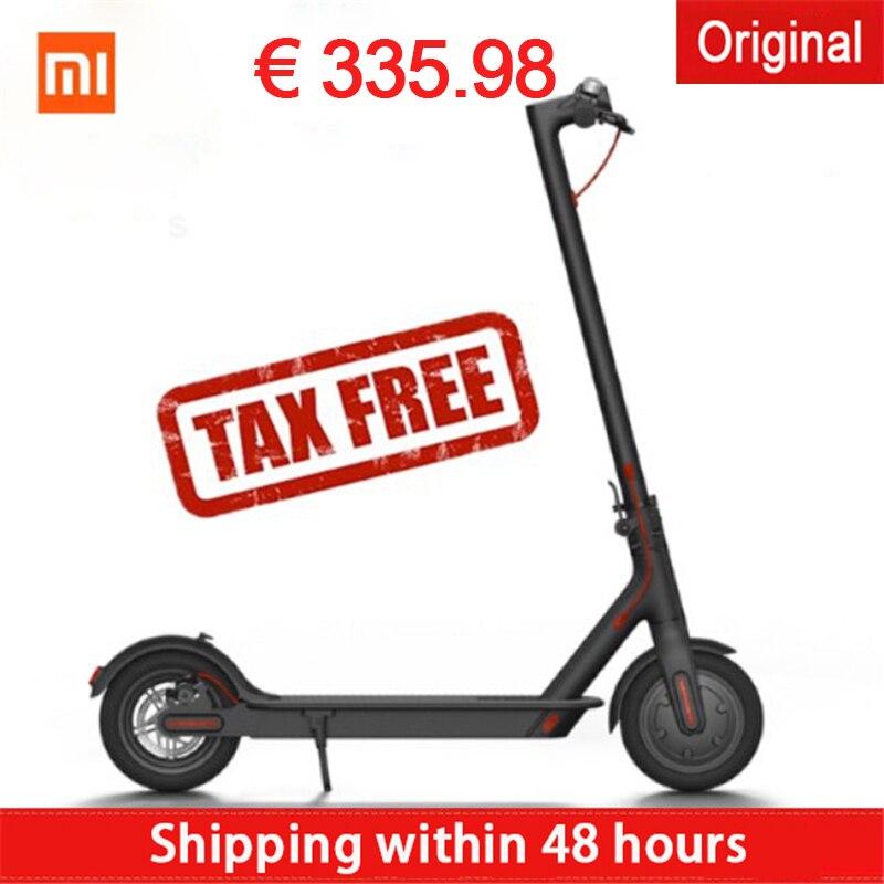 Vente chaude xiaomi Électrique scooters hoverboard Magnesuim-en alliage d'aluminium longboard Mijia Smart scooter populaire allemagne stock